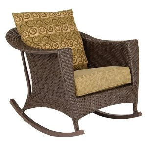 Outdooor Wicker Rocking Chair
